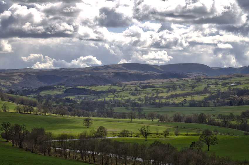 View Across Penrith, Cumbria Agriculture Beauty In Nature Cloud - Sky Field Landscape Landscape_Collection Landscape_photography Landscapes Lush Foliage Mountain Nature Outdoors Penrith Penrith Penrith, United Kingdom Rural Scene Scenics Tranquil Scene Tranquility