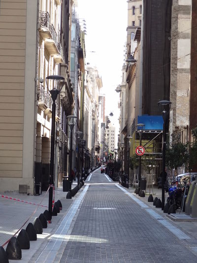 Architecture Building Exterior Built Structure City Day Microcentro Microcentroporteño No People Outdoors Peatonal Peatonal Sky The Way Forward