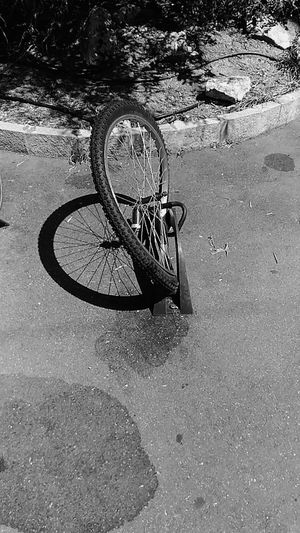 Wheel Bicycle Shsdows Sculpture In The City Dadaism Bicicleta Ruota Black And White Urbanphotography Urban Lifestyle