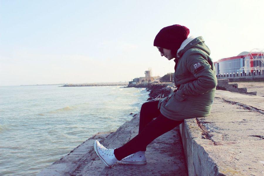 Lonely Kaspian Sea