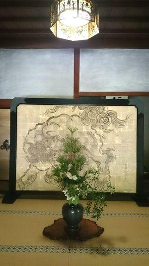 Japanese Traditional Japanese Culture Indoors  No People 生け花 寺社仏閣 Japan Photography Japan Scenery at Japan 高野山 Koyasan