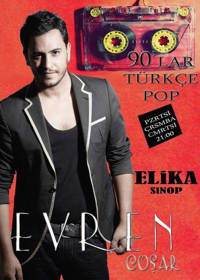 Sinop Elika Bar Yaz Boyu Singers Musician Music 90's  90'lar #türkçe pop