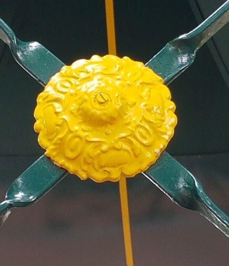 Close-up of yellow cake