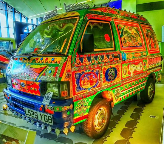 Cool Car Pakistani Painted Car