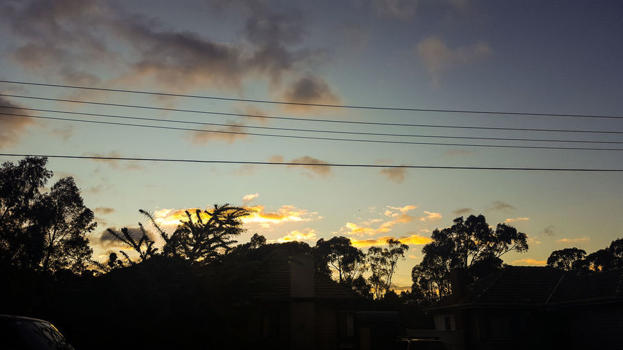 Melbourne Sky_collection Skylovers Sky Photograpy Northernsuburbs Nature Sunrise Silhouette