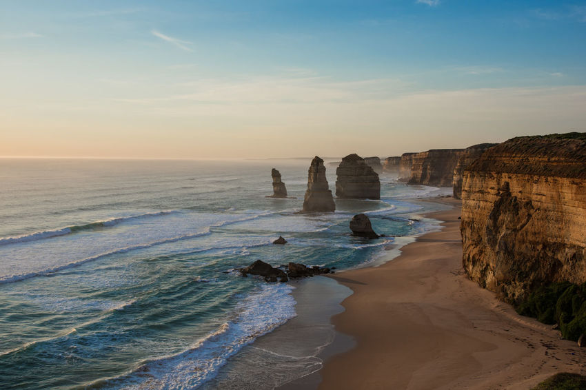 Twelve Apostles on the Great Ocean Road, Melbourne, Victoria, Australia 12 Apostles 12 Apostles, Australia Australia Australian Landscape Great Ocean Road Great Ocean Road, Australia Melbourne Australia National Park Port Campbell Victoria Australia World Heritage Site By UNESCO World Heritage Site Beautiful Sunset Cliffs And Water Erosion Great Ocean Road Melbourne Great Ocean Road National Par Limestone Cliffs Natural Monument Port Campbell National Park Seascape Southern Ocean Sunset The Twelve Apostles