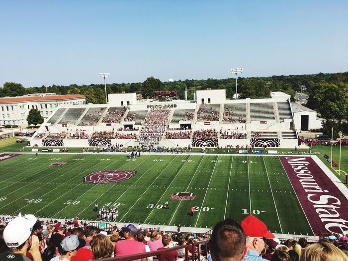 Game Day! Football College USA Missouri State University