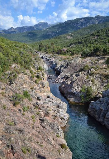 Corsica Corse River Riverside Wild Nature Nature_collection Escape Trip Traveling Mountains Mountains And Sky France River Collection River View EyeEmbestshots Countryside Water Water Reflections Rock Freshness Fresh EyeEm Best Shots Been There. Perspectives On Nature