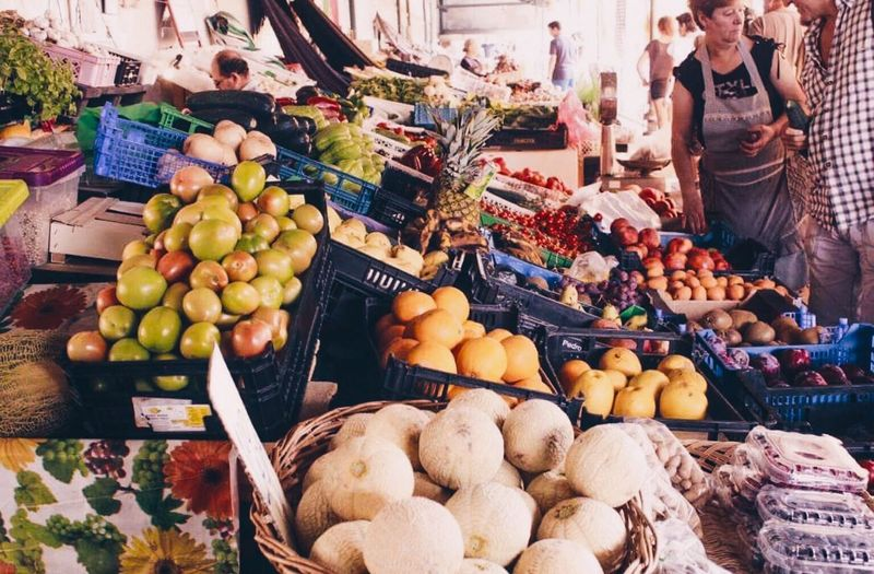 Vegetable Freshness Abundance Market Stall Choice Tomato Outdoors Retail  Market Healthy Eating Variation Portugal Ericeira Friends Trip Travel Destinations Summer Shop EyeEmNewHere Food And Drink For Sale Fruit Day Food Price Tag No People
