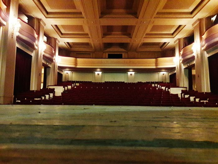 Art Deco Residence Palace Bruxelles-Capital Theatre Indoors  Auditorium Architecture Arts Culture And Entertainment In A Row No People Concert Hall  Illuminated Day