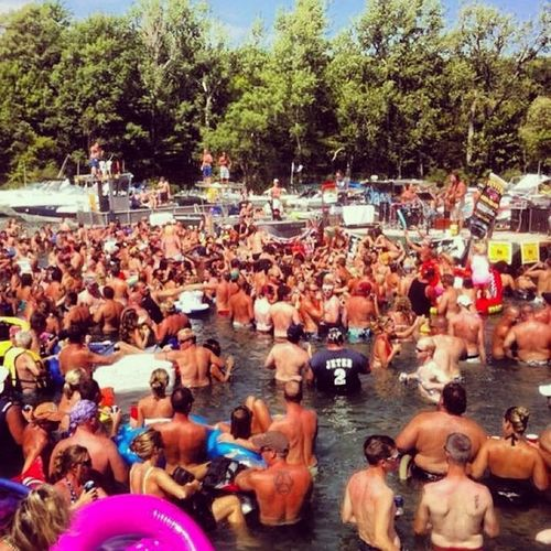 TBT  Picton  Pirateweekend Summertime boatparty @jake_ofall_trades 1000islands