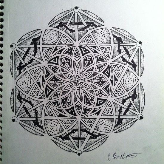 Sacredgeometry Floweroflife Seedoflife Elevated vibes layers dots love