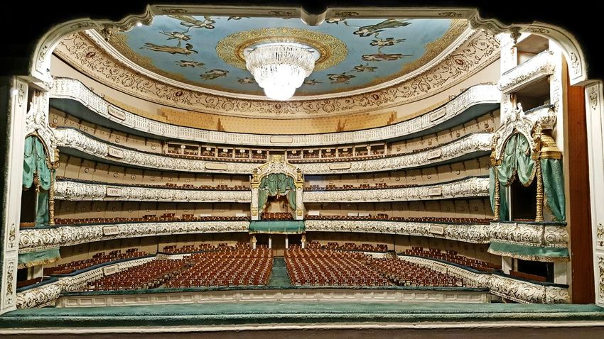 Design Indoors  Pattern Architecture Built Structure No People St. Petersburg, Russia Theater Photography Theater Theatrical Performance Arts Culture And Entertainment Russian Ceiling Lights Mariinsky Theatre Theather Royal Box Box Seats Theater Seats Russia St. Petersburg Close-up Stage View Model