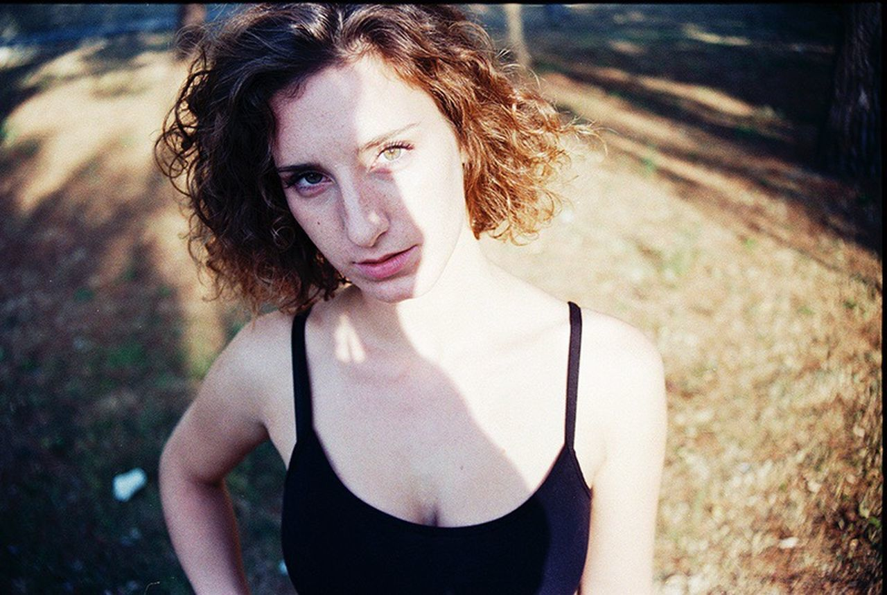 Rossella, august 2017. Portrait Looking At Camera Outdoors One Person Young Women Filmisnotdead Film Photography Analogue Photography Analog Camera The Week On EyeEm