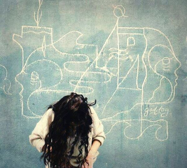 Wall Of Death Ideas Draw Wall Street Photography Girl Hairstyle Confused Blue