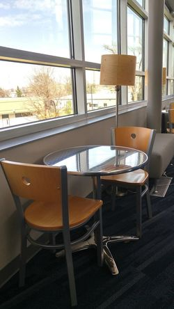Window Chair Indoors  No People Seat Day View From Above Chair Chairs And Tables Nook