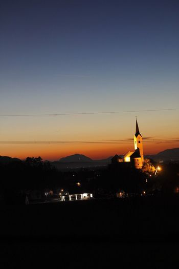 Sunset, AUT Church Sunset Nature Austria Sky Beauty In Nature EyeEmNewHere Colour Your Horizn