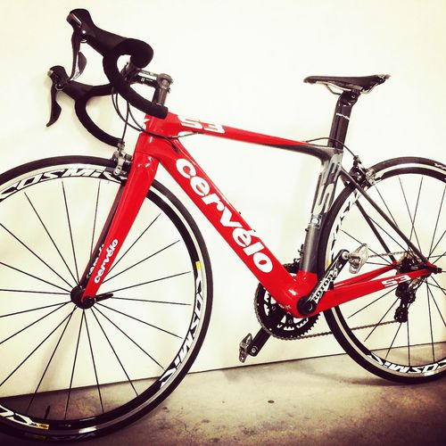 my new bicycle!! cervelo S3 Roadbike Bicycle Bike Cervelo