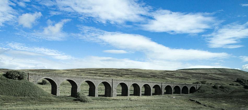 Railway Bridge Viaduct Architecture Cloud - Sky Cultures Day History No People Outdoors Railway Bridge Sky Viaduct Viadukt
