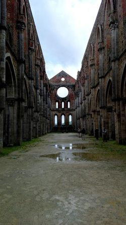 Solitude Built Structure Old Ruin Travel Destinations Medieval Magical Place Famous Place Tuscanygram Photooftheday The Past Scenics Legendary Discovertuscany Abbey Magical Places Ruins Best Of EyeEm Pictureoftheday History Tourism Tuscany Sangalgano Abbey Ruins Discoveritaly Architecture