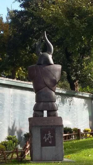 Samurai Outdoors Sculpture Buenos Aires, Argentina  Argentina Photography Samurai Japan Jardinjapones