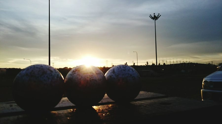 Creative Light And Shadow Petanque