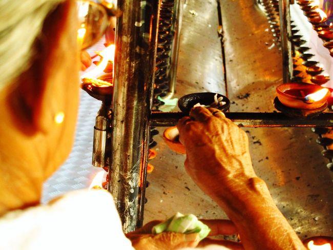 Spirtual Candle preperation. Learn & Shoot: Layering Sri Lanka Traveling In Sri Lanka