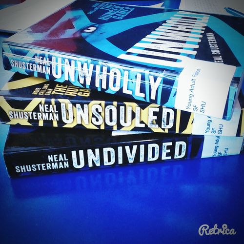 reading Unwind trilogy Swagg SwanQueen Unwind