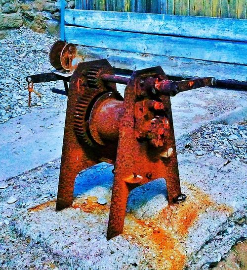 Machines Maquinaria #old Oxido