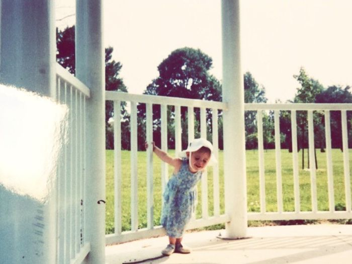 Vintage Happiness Childhood Tree Smiling Throwback First Eyeem Photo