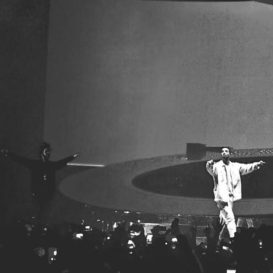 The Weeknd & Drake Music Don Filter Funkbroder Blackandwhite