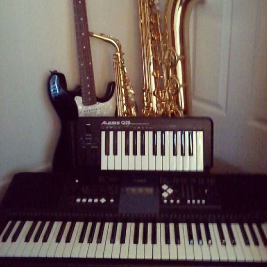 New keyboard and all my instruments