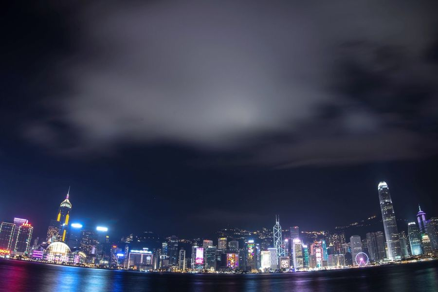 HongKong Night Nightphotography City Cityscapes Harbour Nikonphotography Hong Kong Urbanphotography Building Architecture_collection
