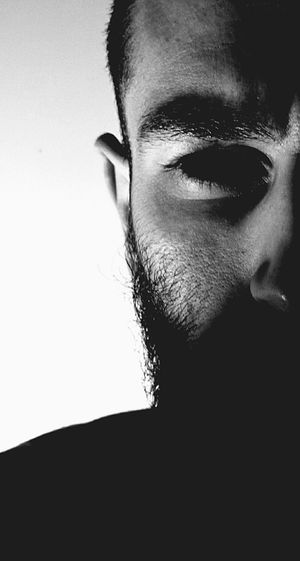 Dark Portrait Black And White