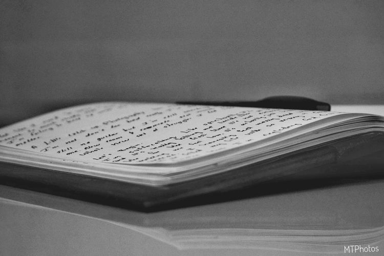 Blackandwhite Nikond3300 Nikon Nikonphotography Book Indoors  No People Close-up Paper Education Musical Note Day
