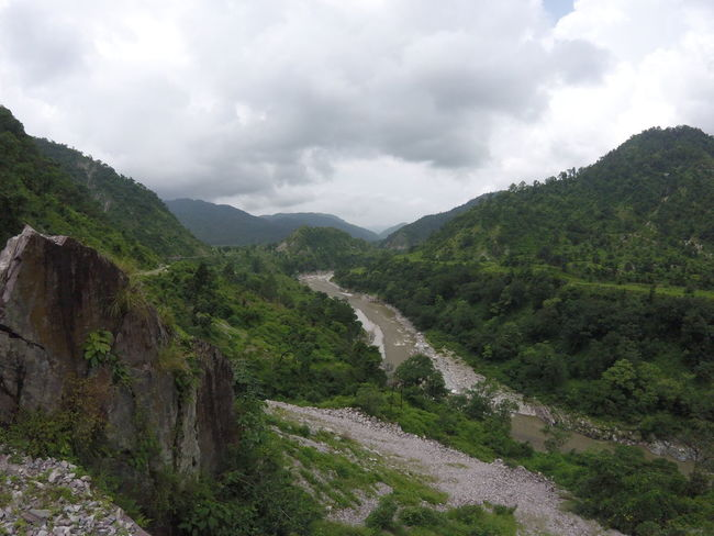 ASIA Brown Water Clouds Greenery India North India Northindia River Riverside Rocks Rocks And Water Sky Travel Destinations Water Miles Away