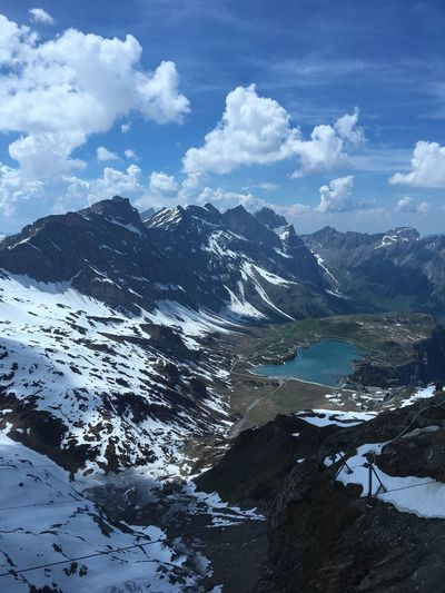 Titlis Mountain Nature