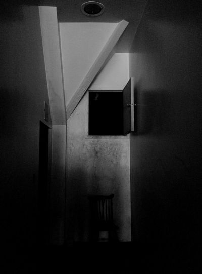 Urban Exploration Abandoned Buildings Creepy Hallway Attic Crawl Space Empty Chair