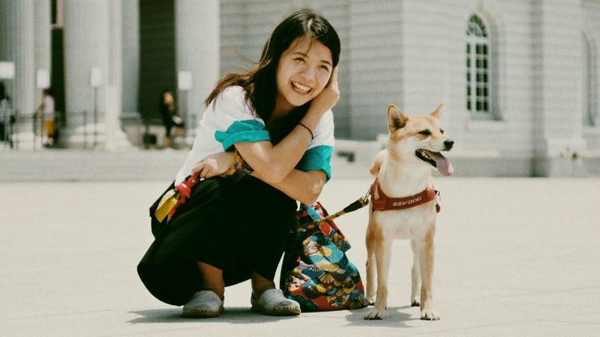 野生鳳文與阿多 Lumix Gx7 Carl Zeiss Jena 50mm 2.8F Dog RePicture Travel