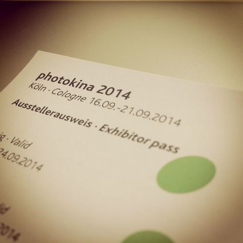 We're so ready for Photokina2014 At A Conference Networking Köln