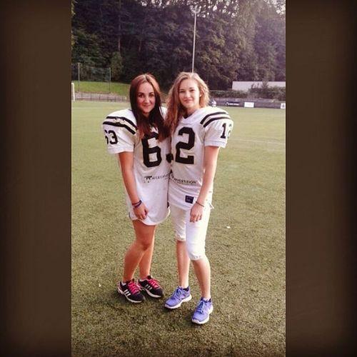Training 👌💪 Americanfootball Americanfootballgirls Training Czechgirls