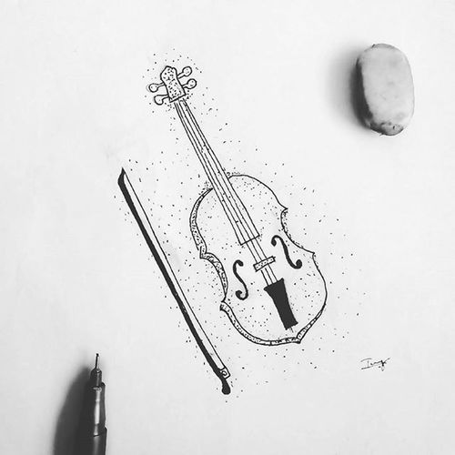 Violin illustration Amazing Awesome Music Drawing Featuregalaxy Pencil Thecreative Illustration Instapic Crazythoughts Photooftheday Picoftheday Artoftheday L4l Likeforlike Like4like Instaart Drawingoftheday Artist Doodlesofinstagram Doodle Arts_help Creativempire Art_collective arts_gallery Art_Spotlight