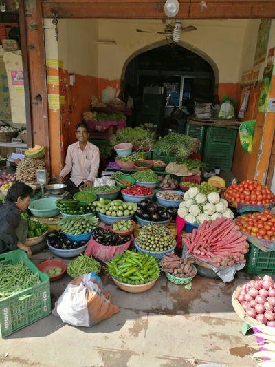 a street trader