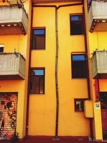 OpenEdit Taking Photos Architecture Colors Streetphotography Orange By Motorola