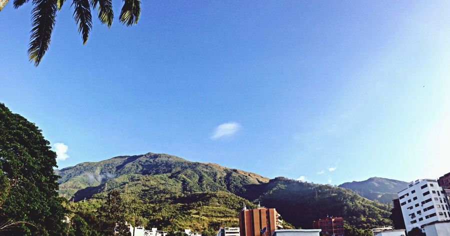 Caracas city with mountain Caracas Cityscape City