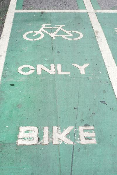 Backgrounds Bike Line Bike Ride Bikecycle Green Road Sign Street Transportation