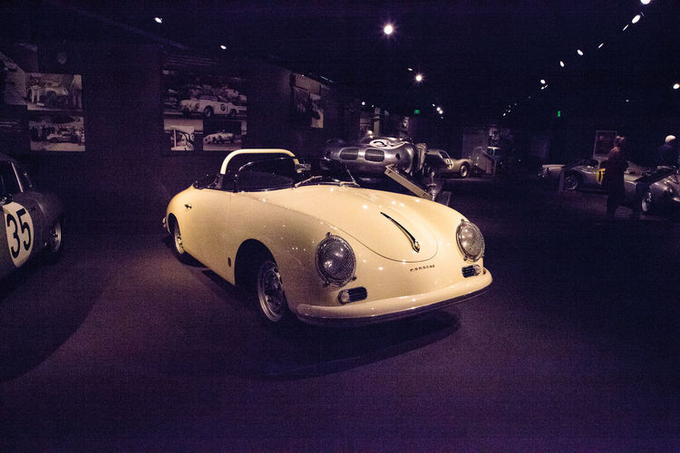 Naples, Florida, USA – May 5, 2018: White 1958 Porsche Carrera GT Speedster displayed at The Revs Institute in Naples, Florida. Editorial use only. 1958 Collier Collection Fast Car Porsche Porsche Carrera 4S Porsche Carrera GT Revs Institute The Revs Institute Car Land Vehicle Mode Of Transportation Motor Vehicle Old Car Race Car Racecar Speedster Sports Car Transportation Vintage Car