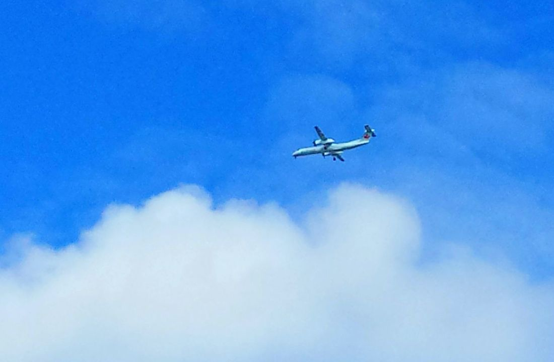 Blue And White Up In The Sky Sky Clouds And Sky Aircraft Up In The Clouds