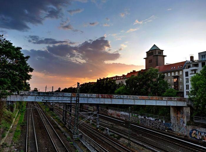 Prenzlauerberg Berlin Sunset