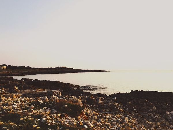 Sea And Sky Beautiful Sunset Salento Happiness Relax Peace Afternoon Gooddays Sunshine Living First Eyeem Photo